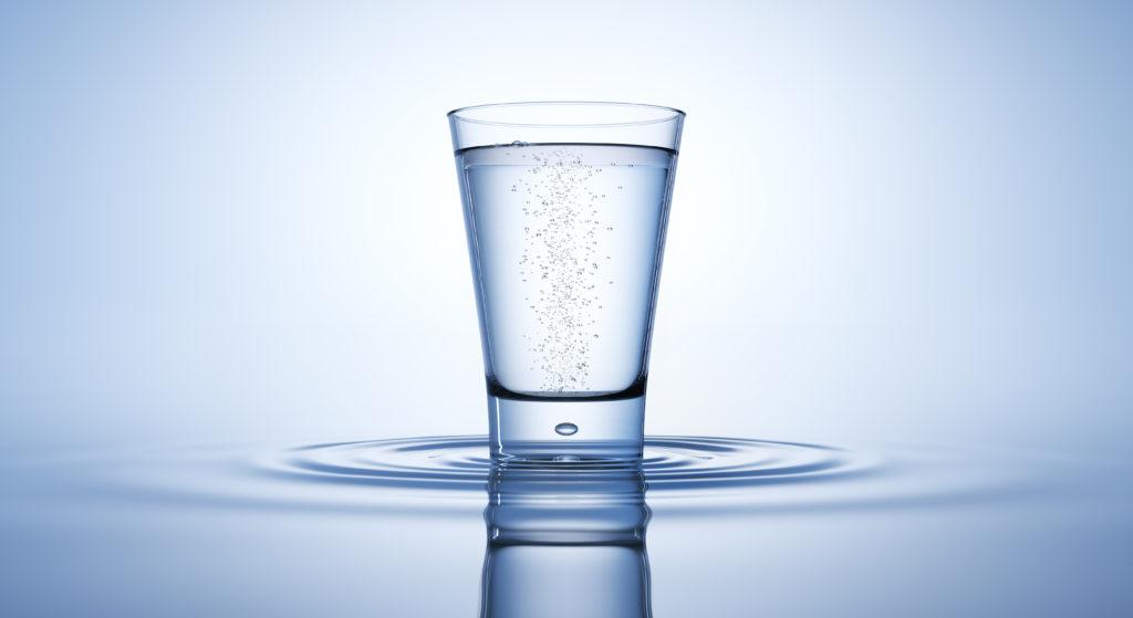 上質なお水の画像です