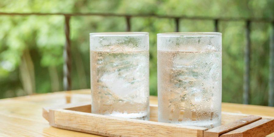 2つのお水