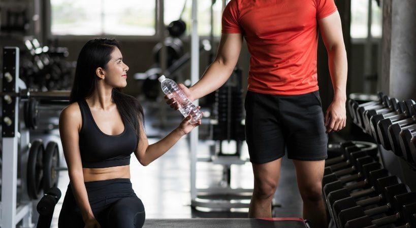 ジムに通っている方必見!水素水の効果で一層筋肉強化!