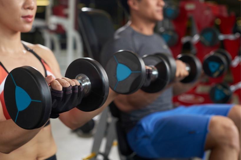 フィットネスジムでの筋肉強化及び脂肪燃焼に最も大事なのは「効率」